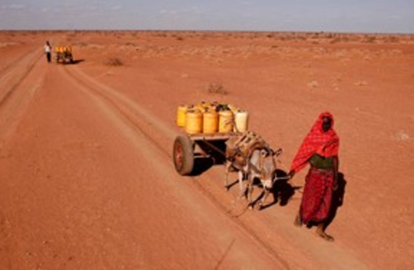 Africa Drought (photo credit: REUTERS)