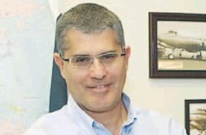 El Al CEO Haim Romano (photo credit: none)