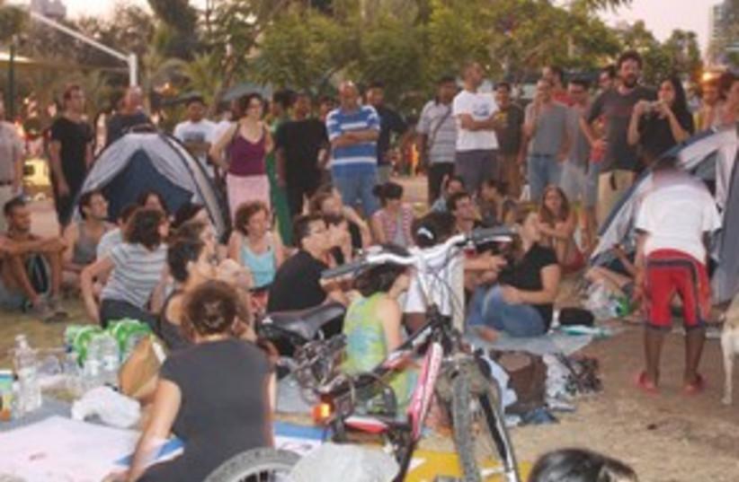 South Tel Aviv tent city 311 (photo credit: Ben Hartman)