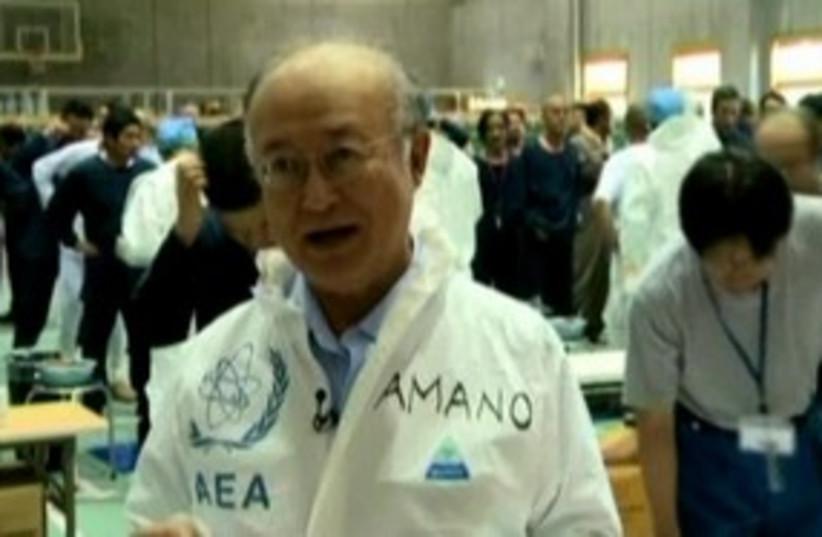 IAEA chief Amano (photo credit: Toshi Maeda/REUTERS)