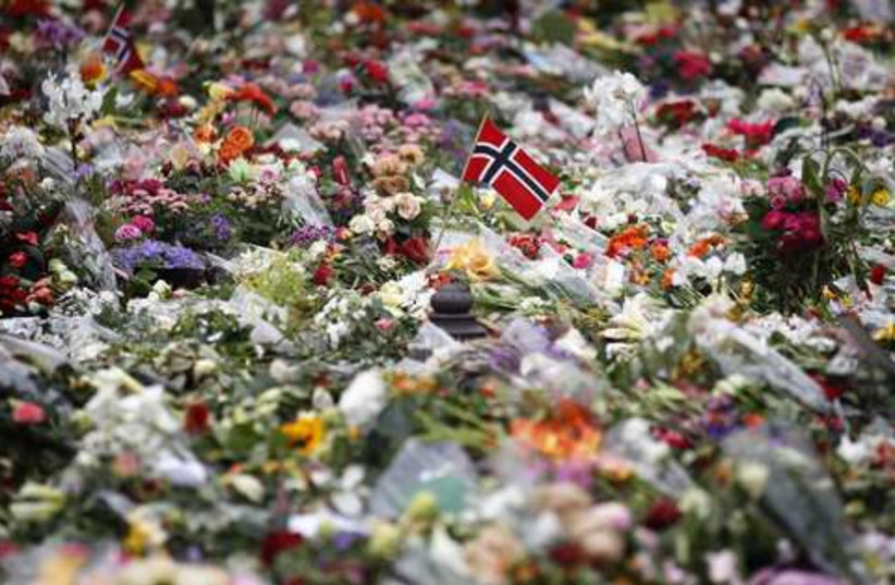 Norway flowers 521 (photo credit: REUTERS/Cathal McNaughton)