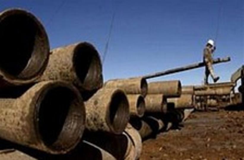 oil pipes 224.88 (photo credit: AP [file])