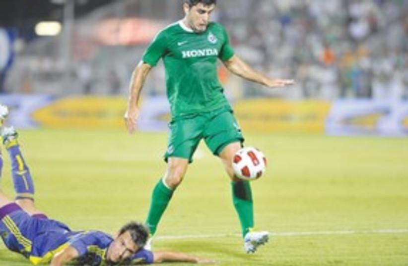 Maccabi Haifa Vladimir Dvalishvili_311 (photo credit: Asaf Kliger)