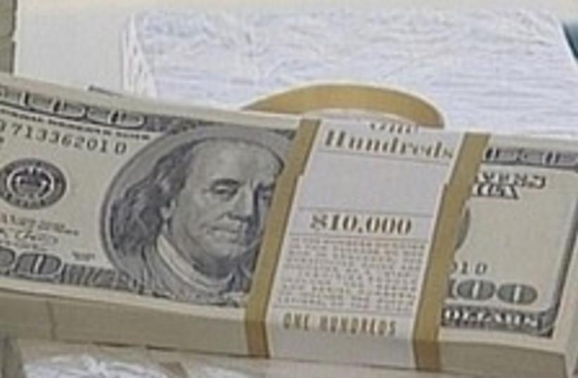 dollars bundle 224 88 (photo credit: Channel 10)