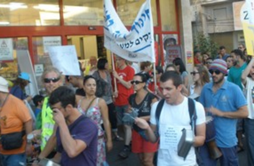 rehovot housing protest_311 (photo credit: YAAKOV LAPPIN)