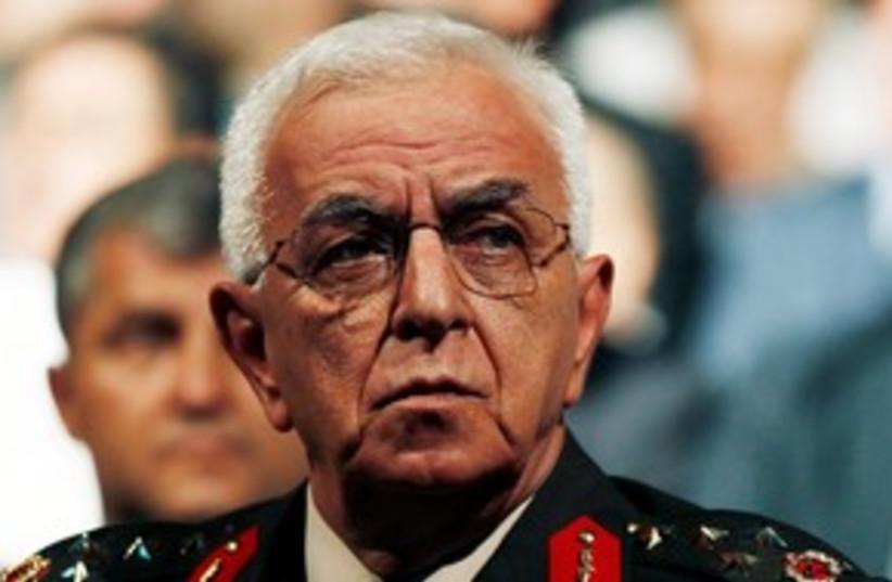 Turkey's Ground Forces Chief General Isik Kosaner (photo credit: REUTERS/Umit Bektas/Files)