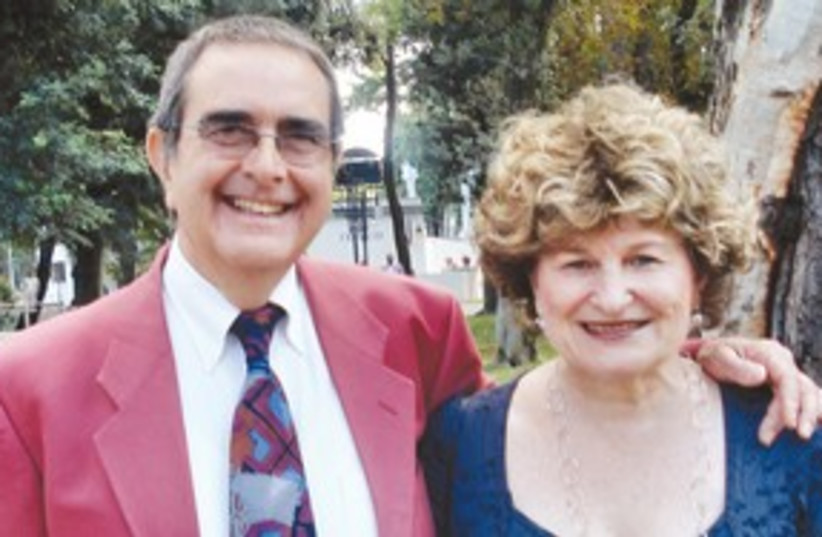Helen and Roby Osimo 311 (photo credit: Dr. Anthony Luder)