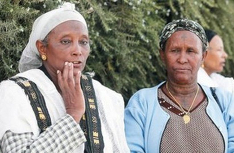 Ethiopian immigrants521 (photo credit: Marc Israel Sellem)