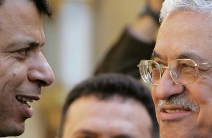 Dalhan and Abbas (photo credit: Tara Todras-Whitehill/Reuters)