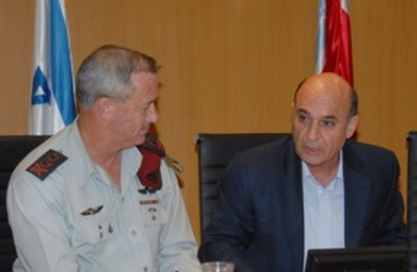 Mofaz, Gantz, FADC_311 (photo credit: IDF )