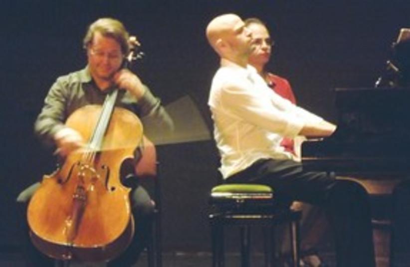 Orfeo Mandozzi and Ohad Ben-Ari311 (photo credit: Ya'arah Nahar Davis)