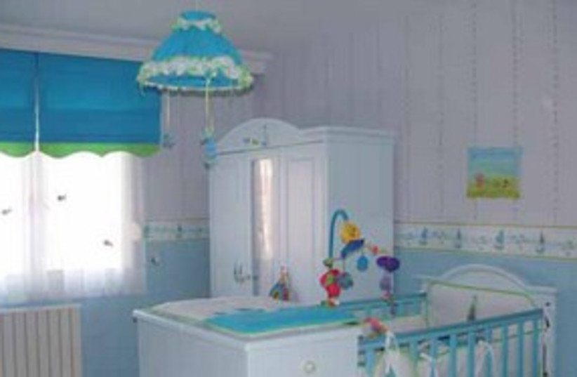 Baby nursery (photo credit: Courtesy)
