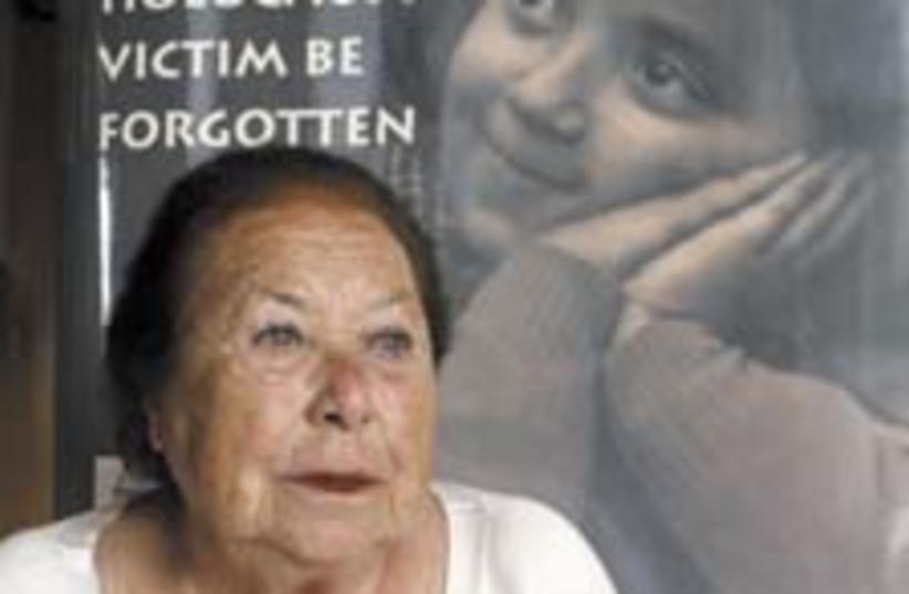 holocaust lady 224.88 (photo credit: Ariel Jerozolimski)