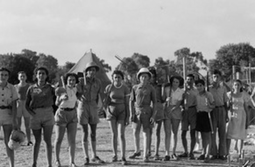 Zichron Yaakov workers, 1939