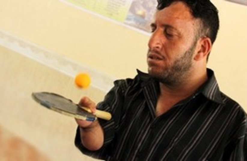ping pong Gazan_311 (photo credit: The Media Line)