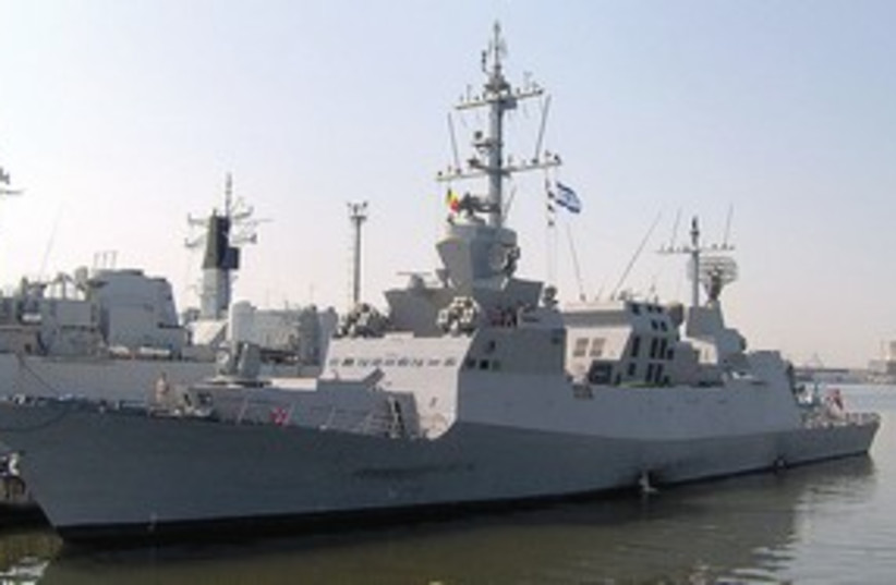 Israeli Navy Ship 311 (photo credit: Jorge Guerra Moreno)