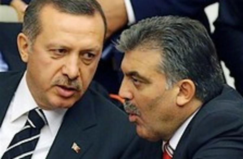 Erdogan Gul 224.88 (photo credit: AP)