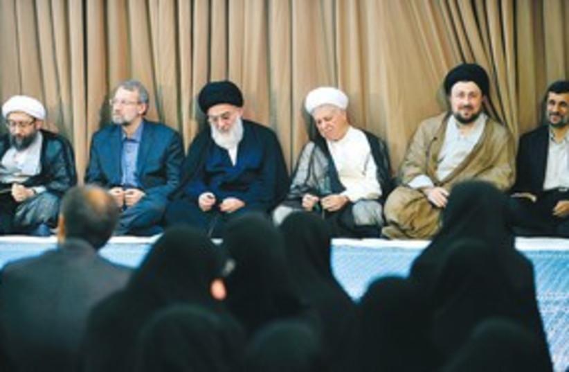 Iran politicians 311 R (photo credit: REUTERS)
