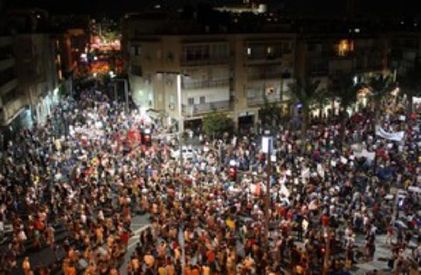 tel aviv massive housing protest_311 (photo credit: Ben Hartman)
