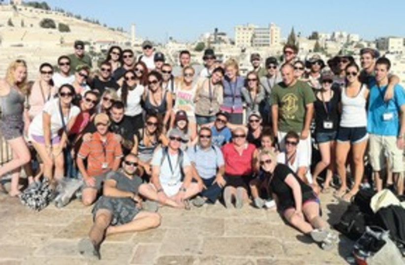 Birthright 311 (photo credit: Mendy Boteach)