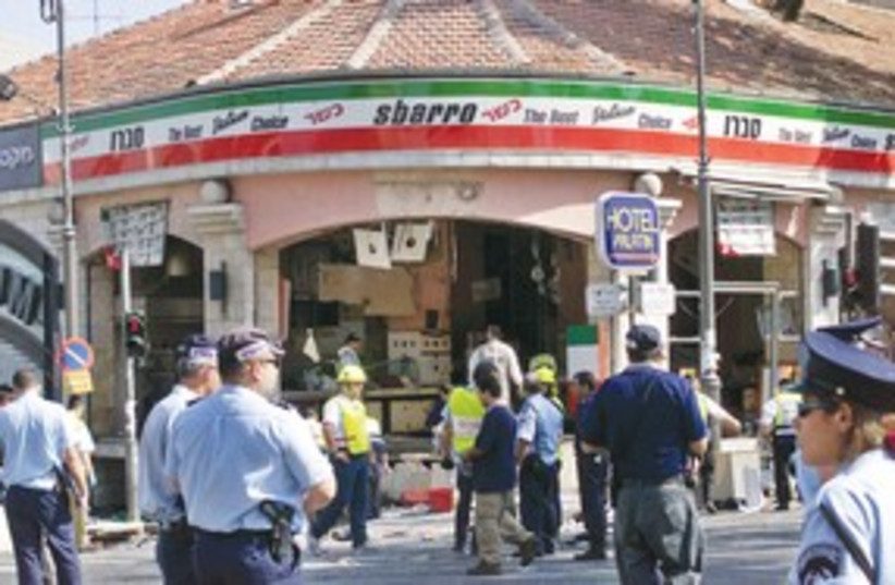 Sbarro Terror Attack 311 (photo credit: REUTERS)
