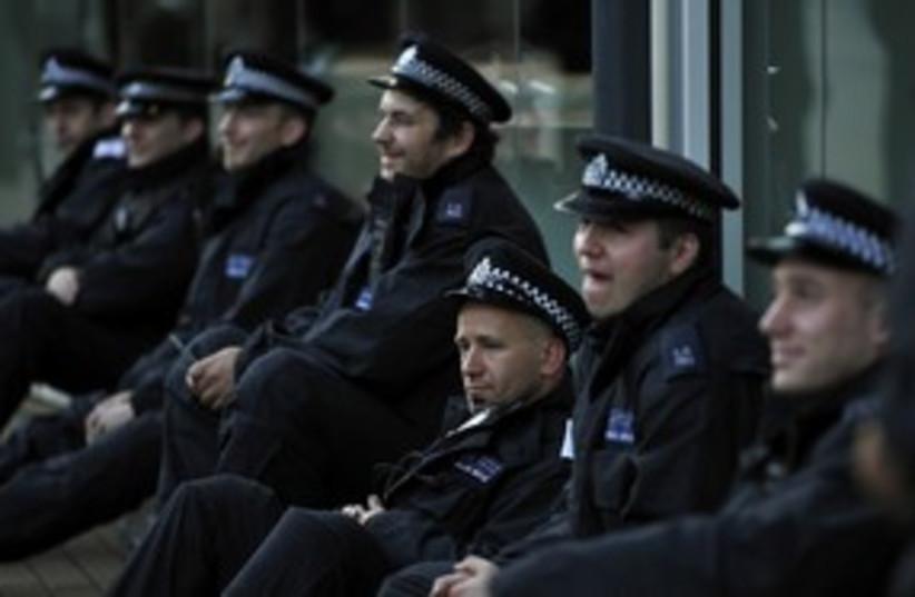 London UK police, cops_311 (photo credit: Reuters)
