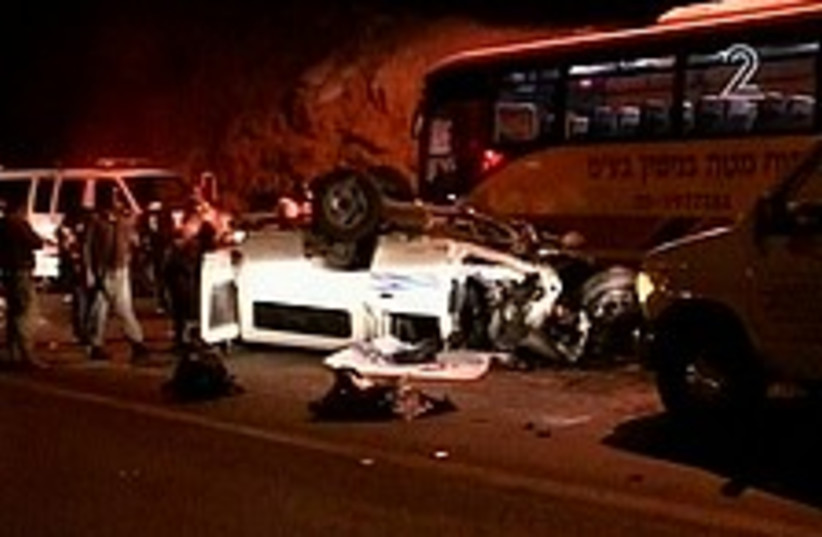 accident 224.88 (photo credit: Channel 2)