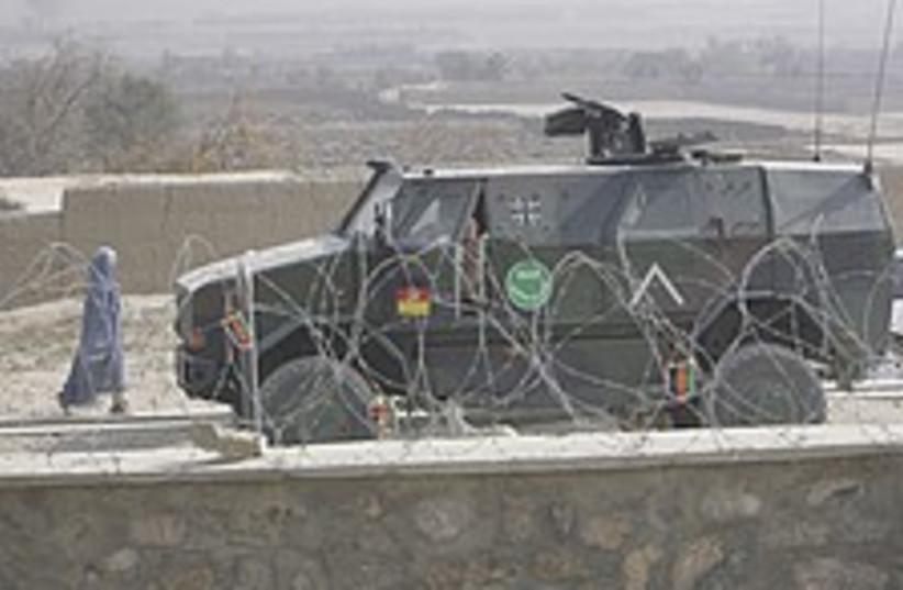 Afghan APC 224.88 (photo credit: AP)