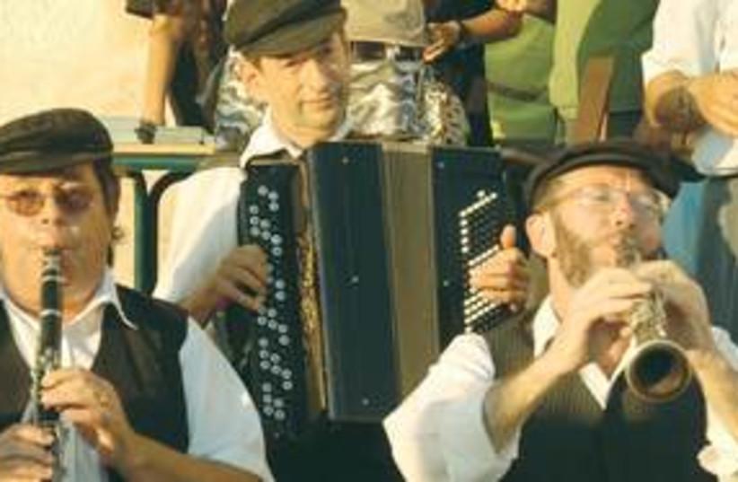 Klezmer musicians (photo credit: courtesy)