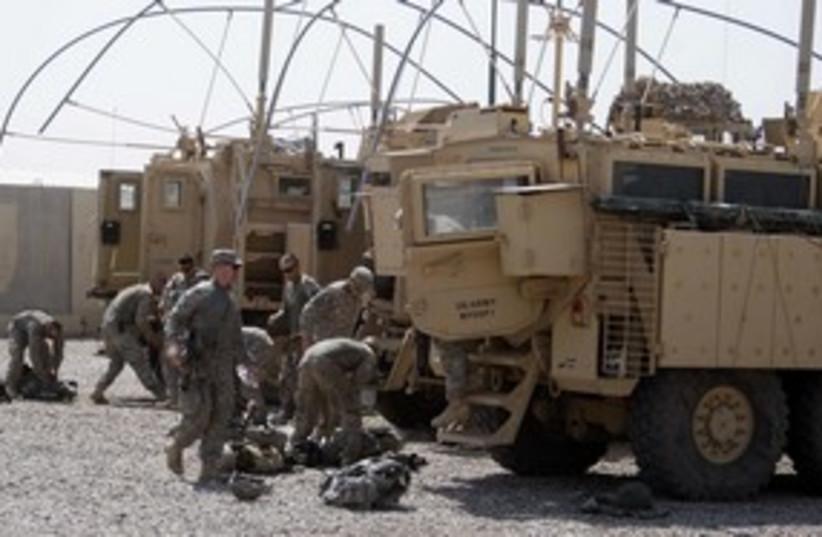 US troops leaving Iraq_311 (photo credit: REUTERS)