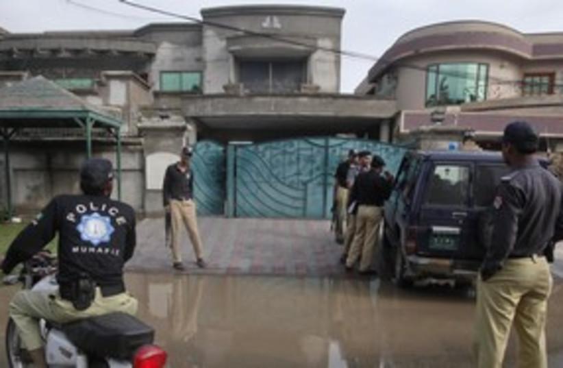 Pakistan 311 R (photo credit: REUTERS/Mohsin Raza)
