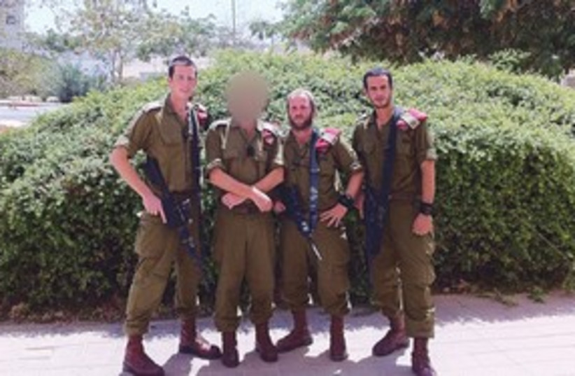 IDF Paratrooper company commanders 311 (photo credit: IDF)