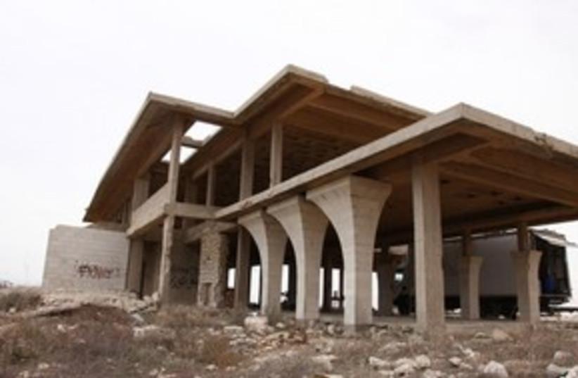 King Hussein's partially built summer villa 311 (photo credit: Marc Israel Sellem)
