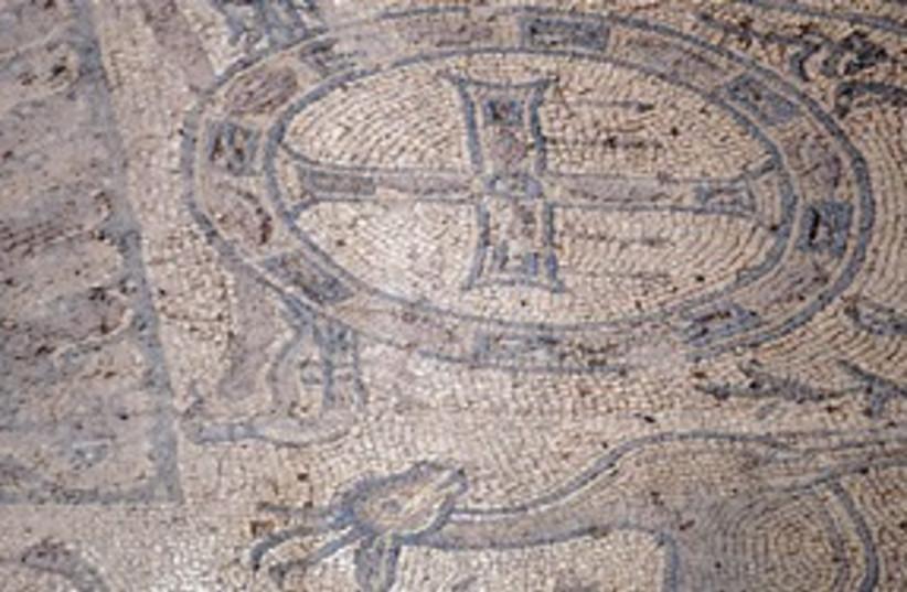 Byzantine mosaic 311 (photo credit: REUTERS)