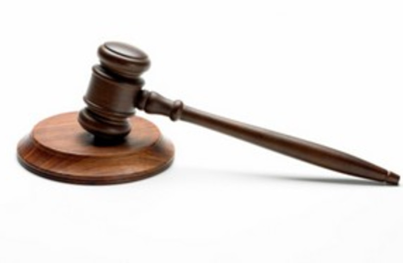 Court gavel justice judge legal law 311 (photo credit: Thinkstock/Imagebank)