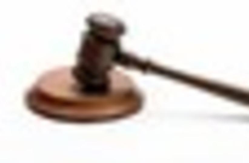 Court gavel justice judge legal law 311 (photo credit: Thinkstock/Imagebank)