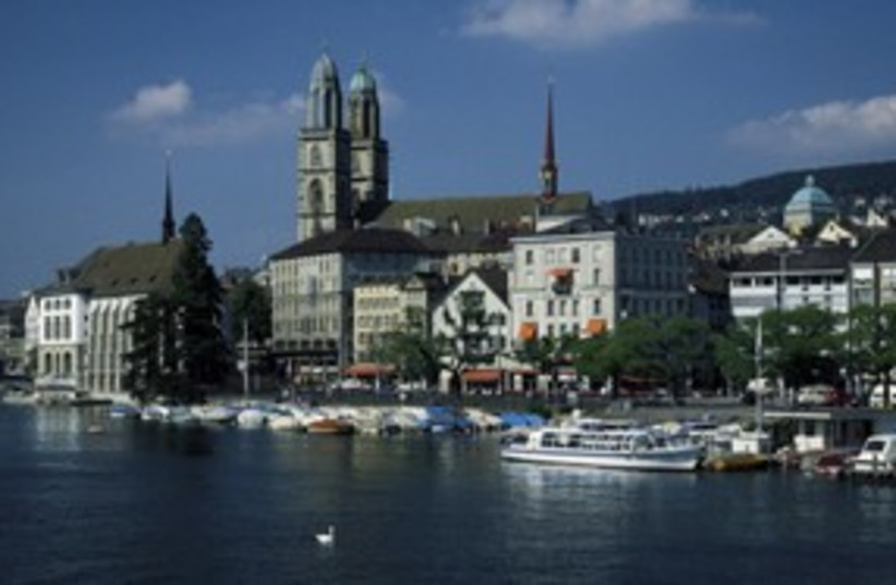 Grossmunster Cathedral in Zurich 311 (photo credit: Comstock)