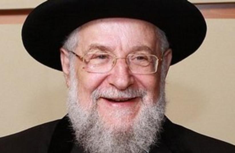 Rabbi Yisrael Lau 311 (photo credit: Wikimedia Commons (CC))