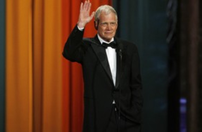David Letterman 311 (photo credit: REUTERS)