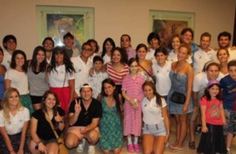 Hallelujah at Safra Children's Hospital 311 (photo credit: Aviv Hofi)
