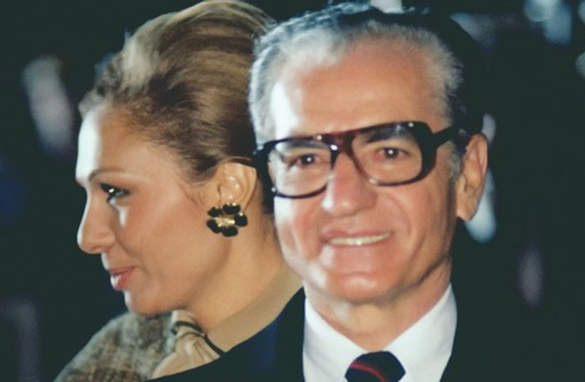 MOHAMMED REZA and his wife, Queen Farah521 (photo credit: Wikimedia)