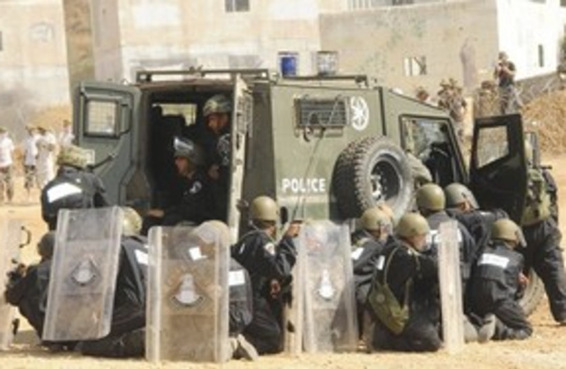 Riot Police 311 (photo credit: Israel Police)