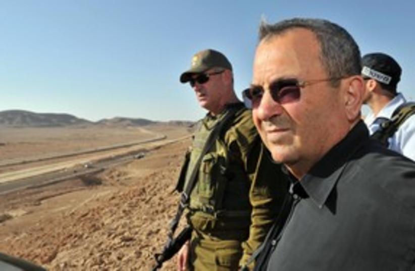 Egypt border Barak 311 (photo credit: Defense Ministry / Ariel Hermoni)