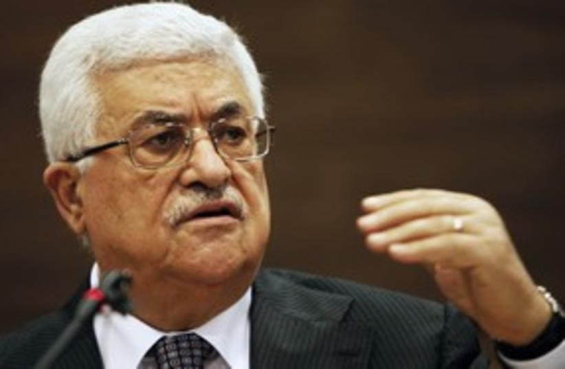 Abbas 311 (photo credit: REUTERS/Dado Ruvic)