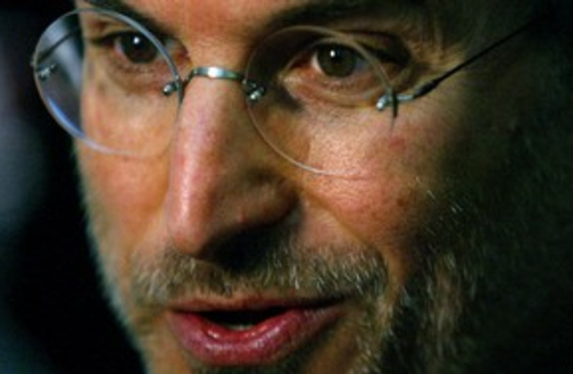 Steve Jobs_311 (photo credit: Reuters)