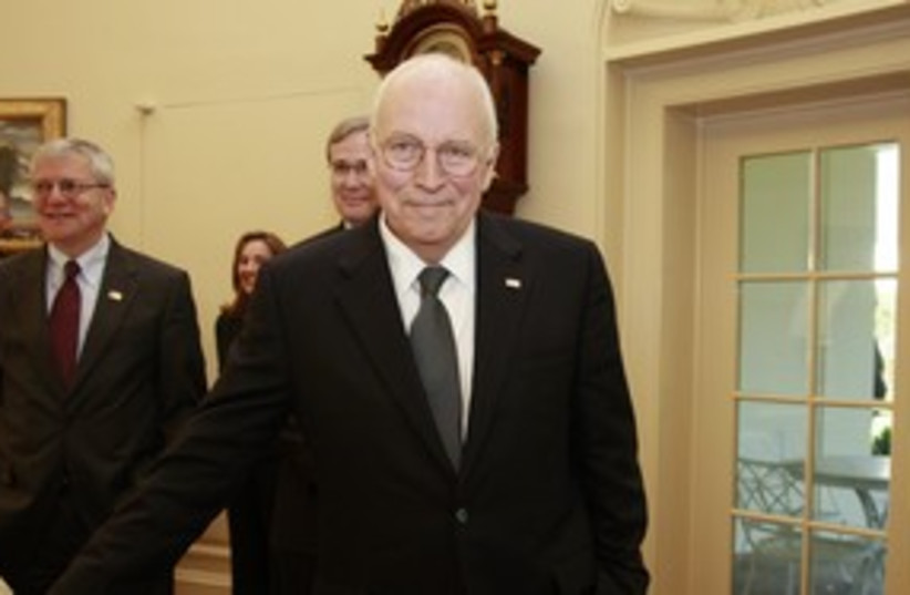 Dick Cheney 311 R (photo credit: Jason Reed / Reuters)