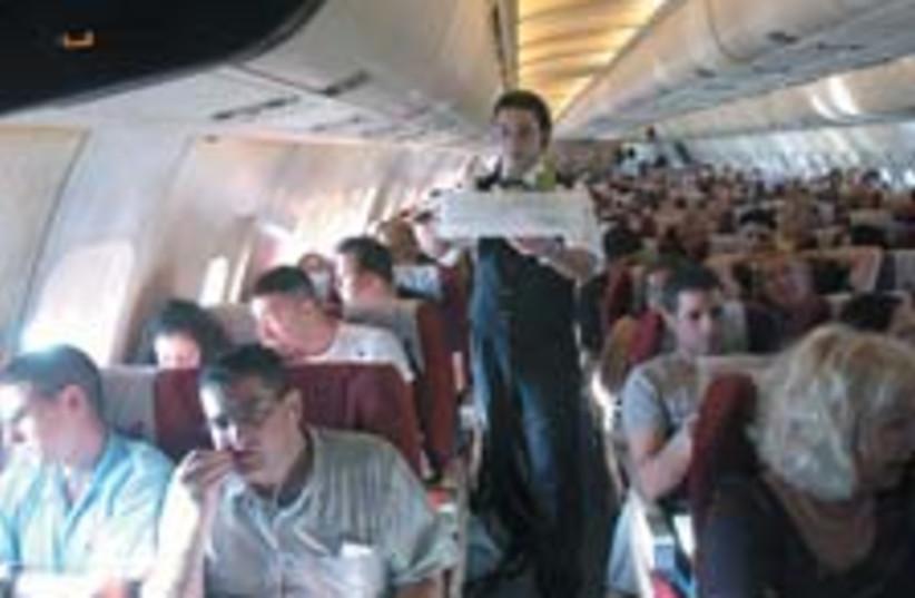 Turkish flight 224 (photo credit: Ariel Jerozolimski)