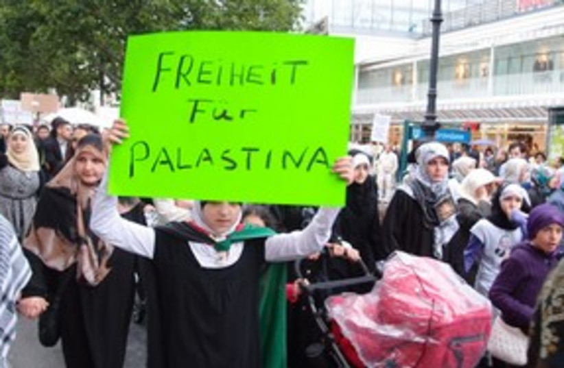 Berlin anti Israel rally 311 (photo credit: Courtesy)