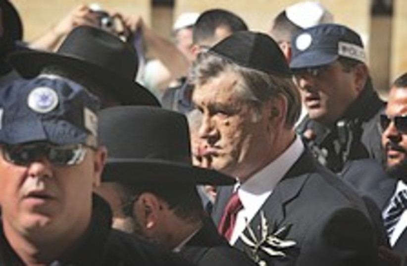 Yushchenko 224.88 (photo credit: AP)