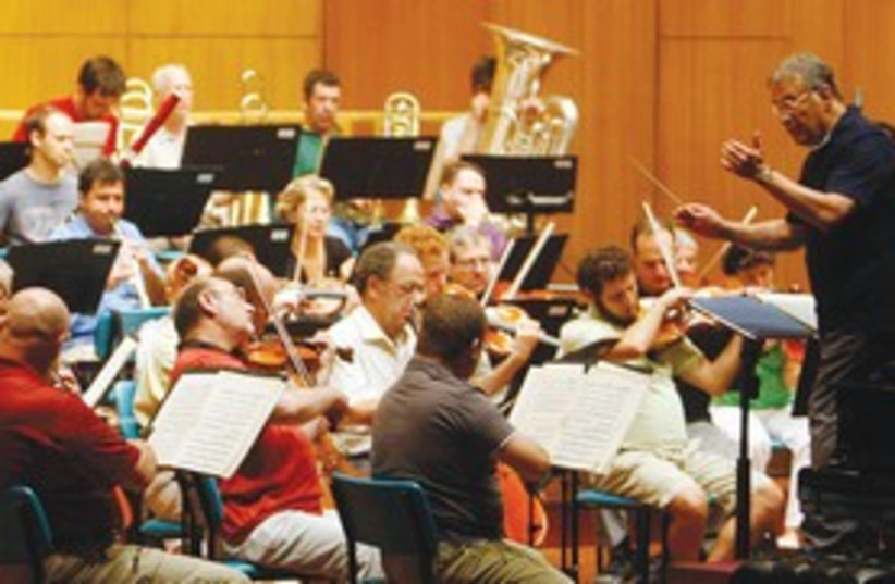 Israel Philharmonic Orchestra 311 (photo credit: Reuters)